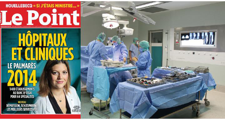 Montage image - couverture Le Point 2014-3